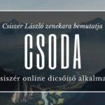 CSODA - Csiszér Online Dicsőítő Alkalmak