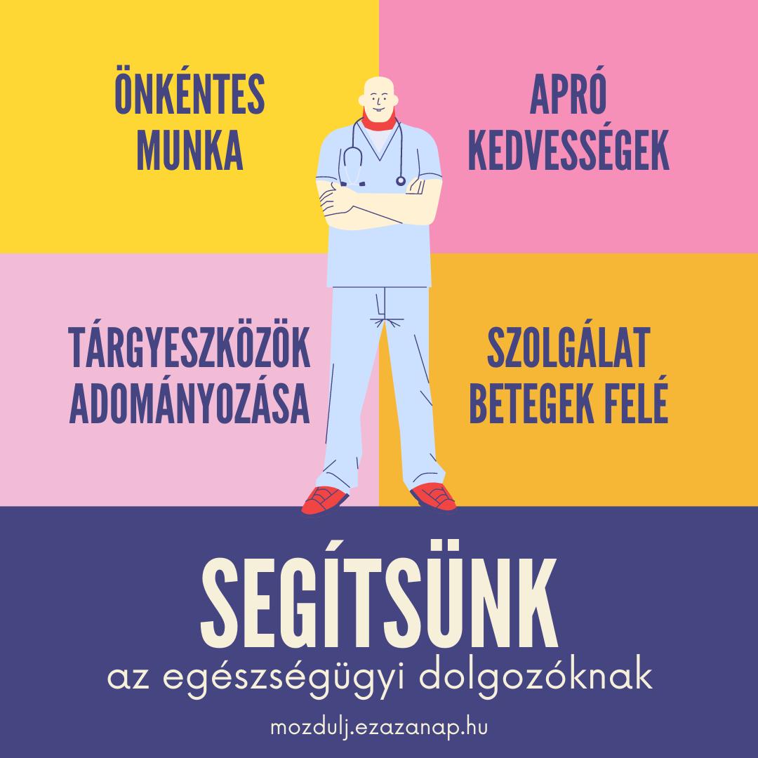Mozdulj! - Segítsünk az egészségügyi dolgozóknak