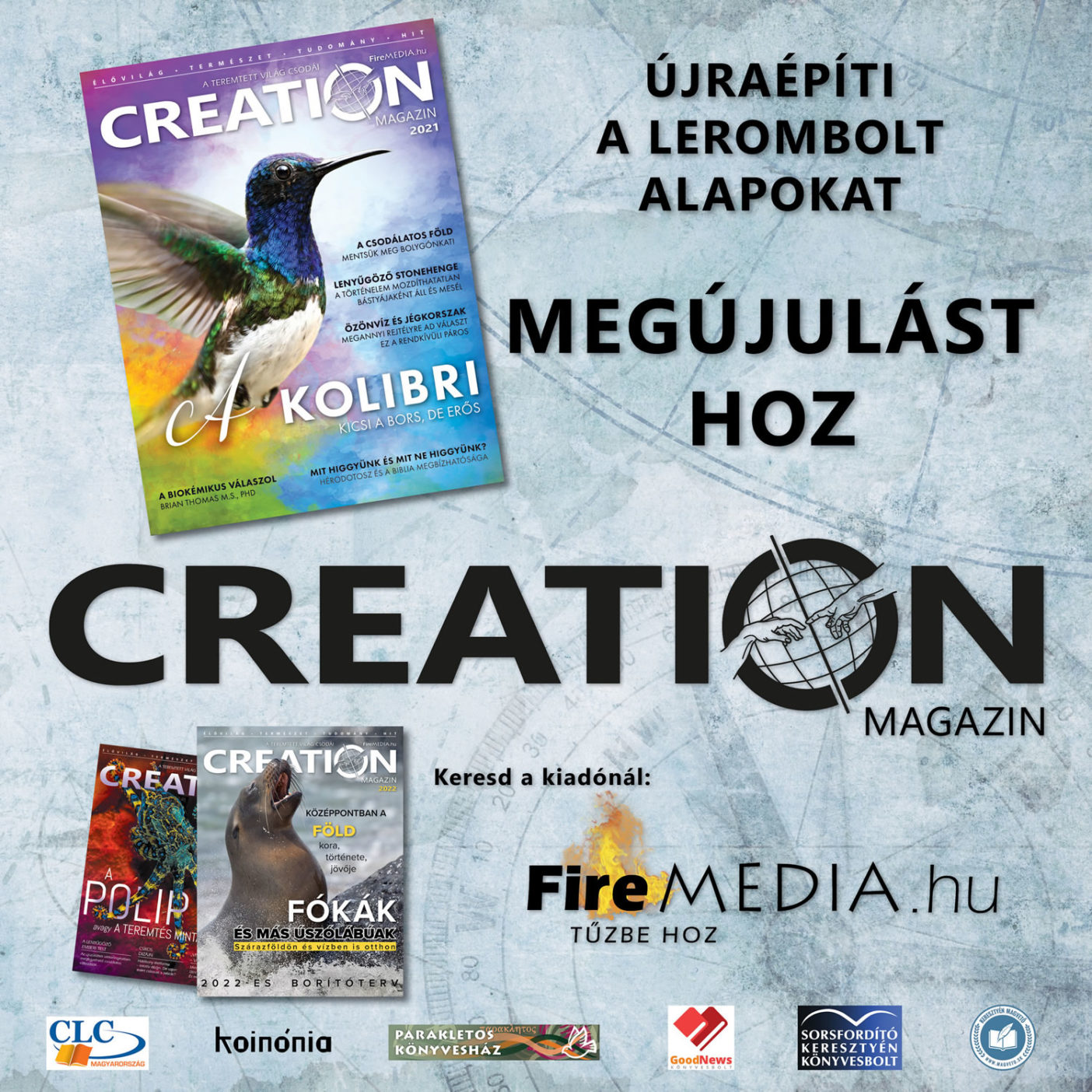 Creation Magazin 2021 promo